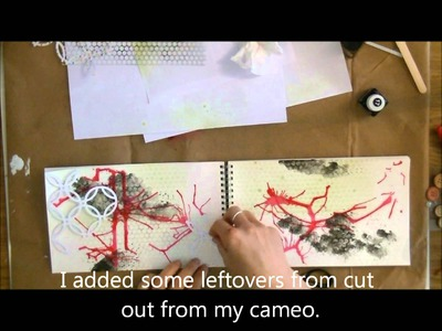 American Crafts Doodling tutorial (Art Journal)