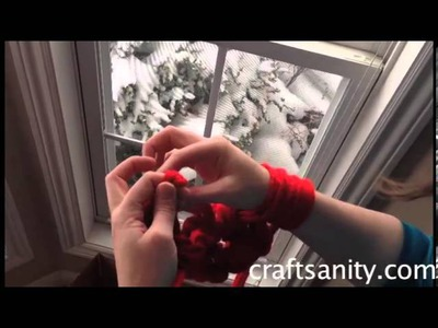 Arm knitting tutorial by CraftSanity