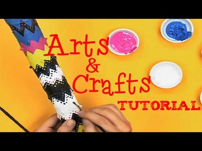 Art Attack - DIY Craft Tutorial - Disney India Official