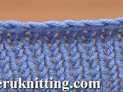 Basic Binding-off Casting-off Knitting Tutorial 7 Method 4 of 12 Knit Bind Off Cast Off Methods