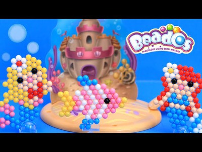 Beados Mermaid Castle Under the Seas DIY Kids Craft Kit Toy