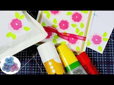 Como Sacar Pegamento del Papel *Glue Eraser* DIY Tutorial Scrapbook español Pintura Facil