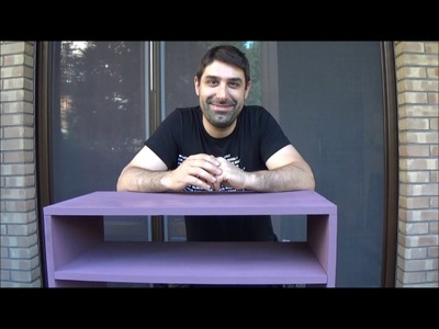 Costruire un comodino fai da te su misura - DIY tutorial how to build a night stand