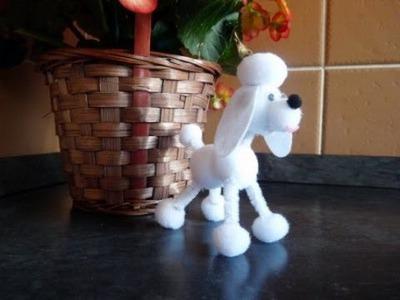 Craft ideas for Kids: Pompom Puppy Tutorial