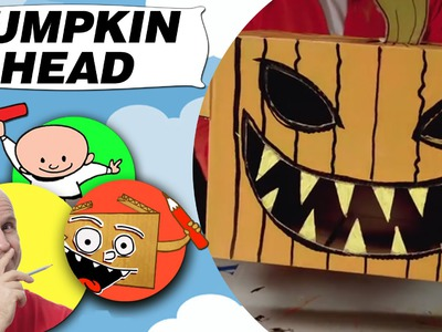 Craft Ideas with Boxes - Pumpkin Head | DIY on BoxYourSelf