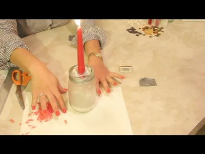 Craft Project Using Jars & Candles : DIY Crafts