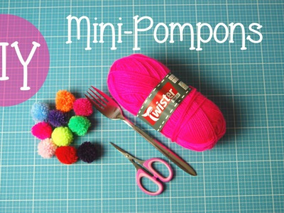 [CRAFT ROOM] DIY Tutorial - Mini-Pompons