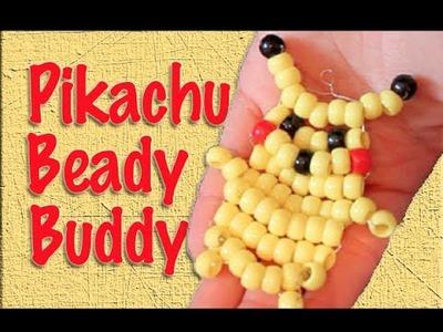 Craft Tutorial: Pikachu Beady Buddy-Geeky Friday