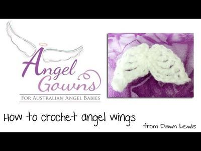Crochet Angel Wings Video