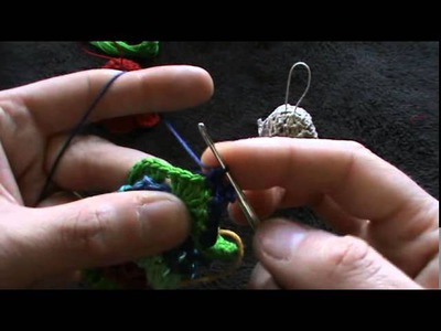 Crochet bell decoration for Christmas Tree