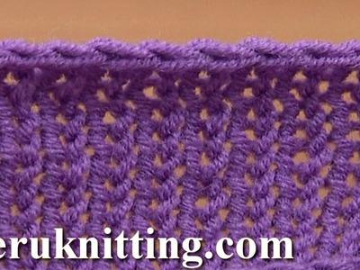 Crochet Bind Off in Knitting Tutorial 7 Method 7 of 12 Different Bind-offs