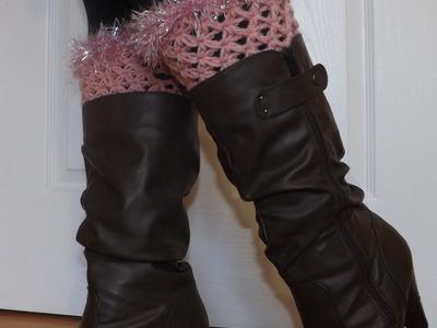 Crochet Boots Cuffs