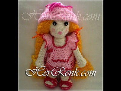 Crochet Doll-How To Make Knitting Doll-Crochet Doll