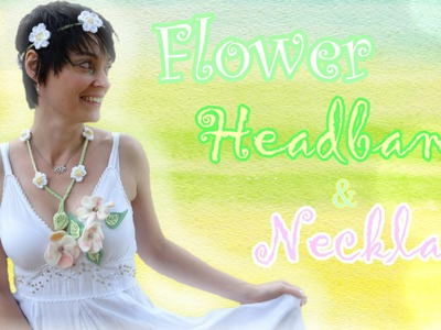 Crochet Flower Headband Tutorial