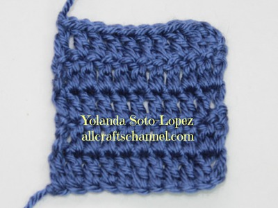 #Crochet  - How to crochet straight edges. rows