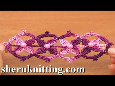 Crochet Lace Tape Tutorial 17 Part 2 of 2