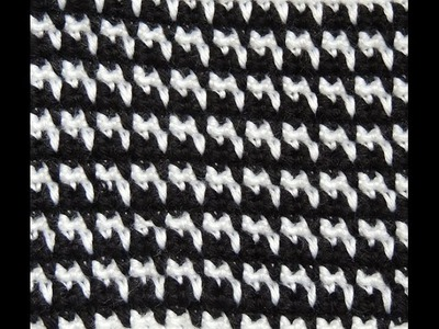 Crochet : Pied de Poule
