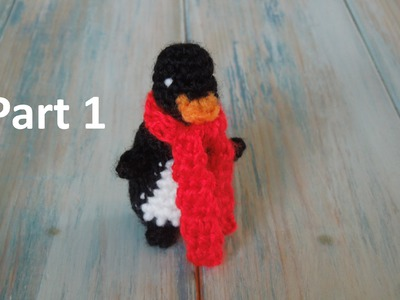 (crochet) Pt1: How To Crochet a Mini Penguin - Yarn Scrap Friday