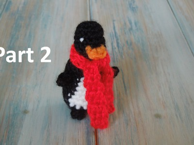 (crochet) Pt2: How To Crochet a Mini Penguin - Yarn Scrap Friday