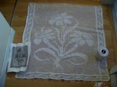 Crochet Table Runner: I'm Halfway Done!!
