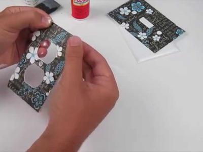 Custom DIY Light Switch Plates | Sizzix Teen Craft