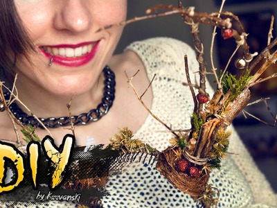 DIY Astas Rudolph · Reindeer Antlers · Adorno Navidad Christmas Prop Craft