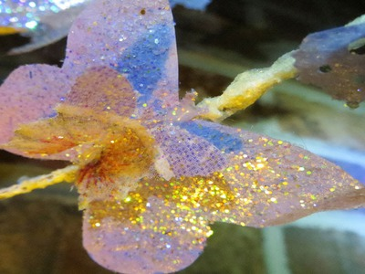 DIY Coffee Filter Craft Butterfly Decoupage branch