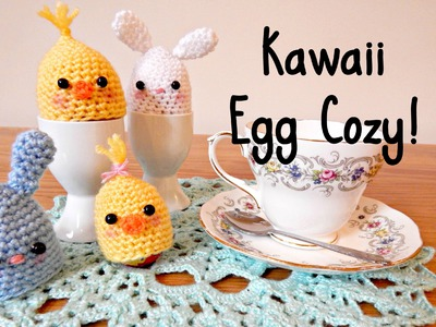 DIY Crochet Kawaii Egg Cozy! ¦ The Corner of Craft