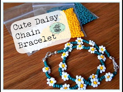 DIY: Cute Daisy Chain Bracelet ¦ The Corner of Craft