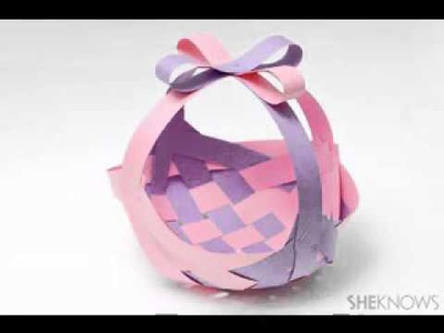 DIY Easter basket craft ideas