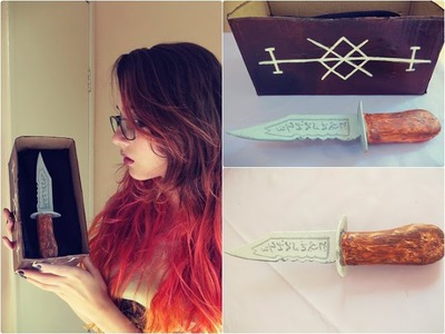 D.I.Y. Faca da Ruby - Sobrenatural | Ruby Knife - Supernatural