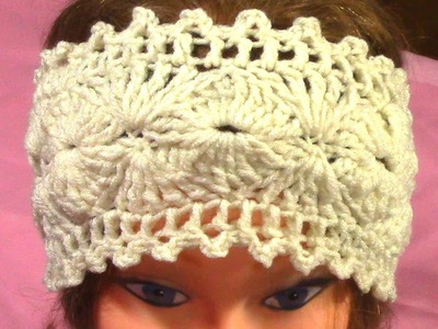 DIY Hot Crochet Headband, Tutorial, Pattern