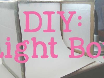 DIY Light Box | Tutorial, Care & How To Use