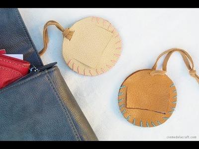 DIY: Make Leather Luggage Tags