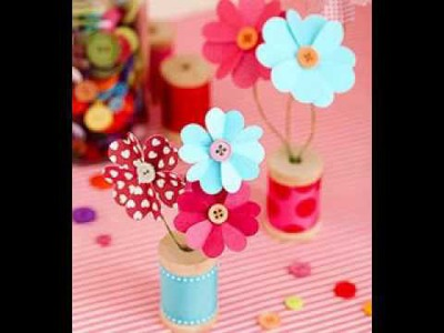 DIY Mothers day craft projects ideas for kids