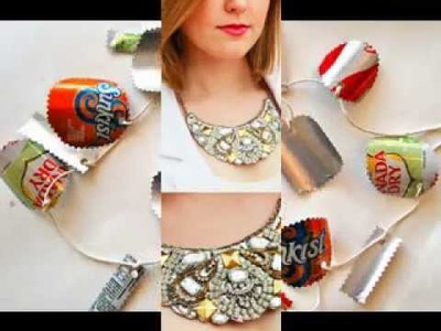 DIY recycled crafts ideas