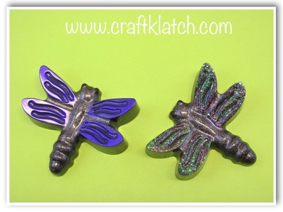 DIY Resin Dragonfly Craft Tutorial