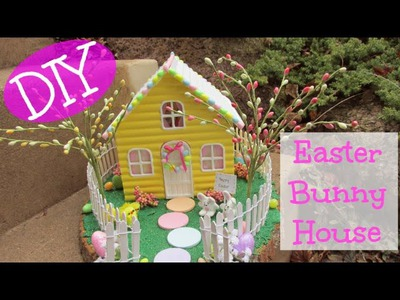 DIY Resin Easter Bunny House  Craft Klatch Easter Series