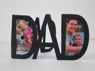 DIY Simple Father's Day Card | Sizzix Teen Craft