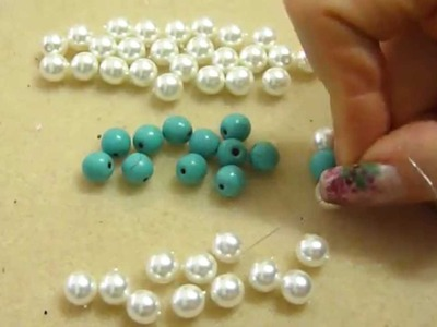DIY tutorial bracciale antiallergico cristalli e perline gioielli fai da te bracelet handmade
