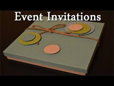 DIY Wedding Invitation Card - Craft tutorial