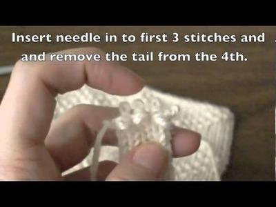 Double Knit Button Band Part 2