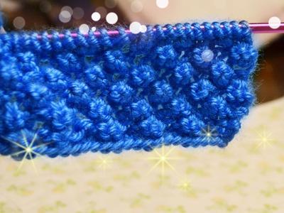 นิตติ้งลายเบอรี่ How to  knitting berry