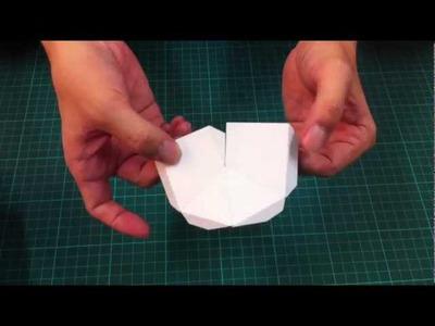 多啦A梦前脚制作01-Doraemon paper craft tutorial part 01
