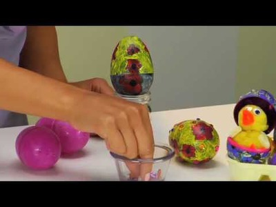 Easter Craft Tutorial! Paint an Ukrainian Inspired Easter Egg - CraftProjectIdeas.com