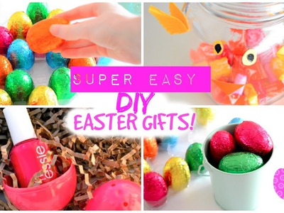 EASY & Affordable DIY EASTER GIFTS! | Last Minute Easter Gift Ideas