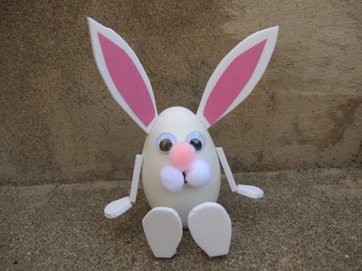 Easy Easter Bunny Craft Tutorial