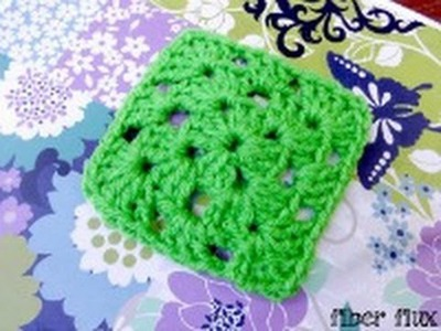 Episode 113: How to Crochet A Classic Solid Color Granny Square