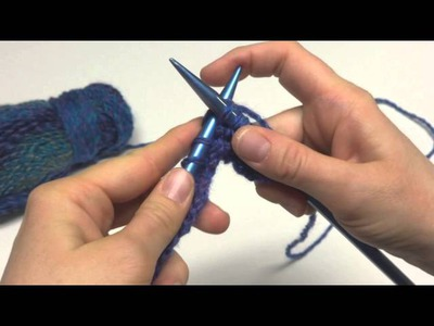 Episode 144: How To Knit The Tweedy Eyelet Scarf
