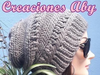 Fashion Beret a Crochet
